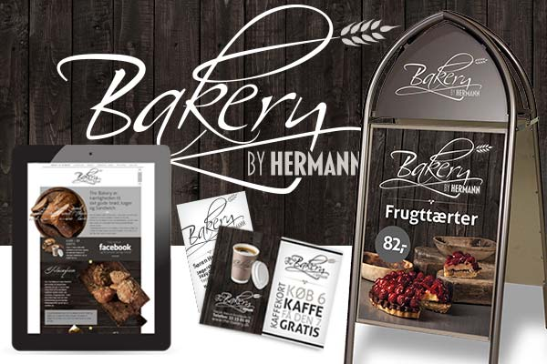 Visuel identitet for Bakery by Hermann