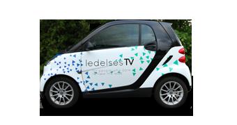 Bilreklame for Ledelses TV