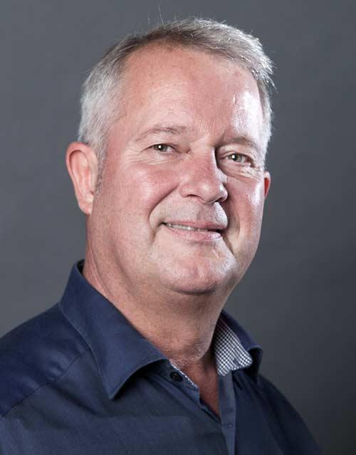Portrætfoto af medarbejder fra Robotech til brug på hjemmeside